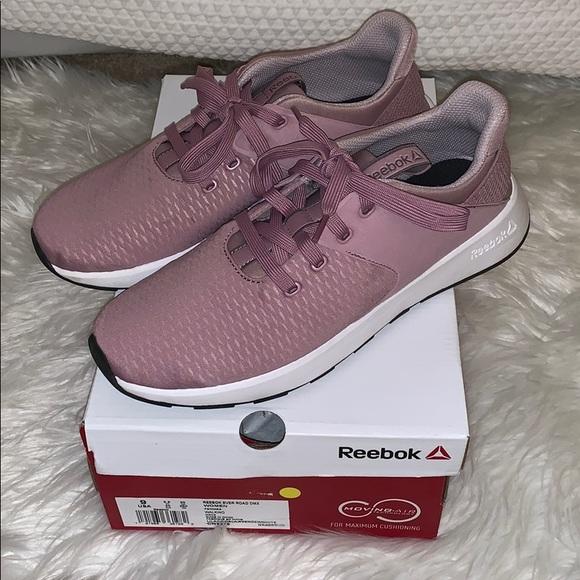 Reebok Shoes   Lavender Sneakers Worn